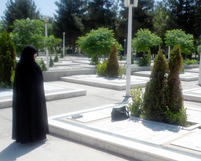 مزار شهید سید جواد خوش قلب طوسی. بهشت رضا. مشهد